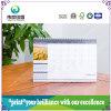 Glatter lackierenqualitäts-Drucken-kundenspezifischer Tischkalender