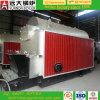 caldeira de vapor despedida carvão de venda quente de 1ton 10bar em China