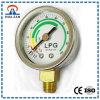 1.5 LPG Gas, Verchromen oder Edelstahl Montage unten 10kg LPG Druckmessgerät