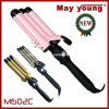 M602c 최고 가격 편리한 손잡이 디자인 전기석 코팅 배럴 머리 헤어 아이언