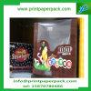 Коробка упаковки еды коробки окна ясности конфетной бумаги шоколада