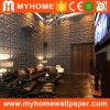Panneau Wallcovering de Walll de vinyle du prix de gros 3D pour la décoration extérieure