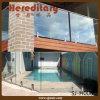 Crochet de verre à barrage de balcon en acier inoxydable percé au carré (SJ-H006)