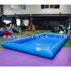 Piscina de água inflável / 0.9mm PVC Tarpaulin Small Inflatable Swimming Pool