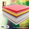 Tuile insonorisée Formaldéhyde-Libre de plafond d'Aoustic de fibre de polyester de studio d'enregistrement