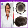 Le meilleur Toupee de vente d'hommes de cheveux humains de Remy de Vierge de beauté