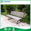 Decoración al aire libre del banco de madera plástico antioxidante revestido del HDPE del polvo (FY-334X)