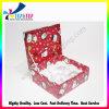 Do presente vermelho do cartão do Totem do Natal caixa de empacotamento