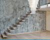 Escadas de madeira, escada do carvalho, escadaria de DIY feita em China