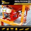 Оптовая машина ковша для промывки золота газолина обрабатывающего оборудования аллювиального золота центробежная