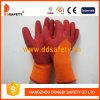 Померанцовая раковина T/C с перчаткой красного латекса ровной законченный (DKL712)