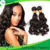Человеческие волосы девственницы бразильянина выдвижения 100% человеческих волос объемной волны