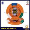 Custom Stickersの14G 4調子のKingのCasino Clay Poker Chip