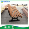 Sillas al aire libre del banco del jardín del arrabio y de madera (FY-307X)