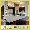 조립식 Calacatta White Quartz Kitchen Countertop 또는 Worktop
