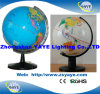 Colour Colour英国のGlobe/World Globe/Educational Globe暗青い/White Yaye 26cm