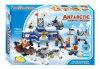 子供のプラスチックブロックのおもちゃ南極科学的な探険