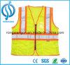 Veste reflexiva dos miúdos da segurança do Vis fluorescente do verde olá! feita em China