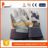 Перчатки Спилковые Комбинированные Пятипалые Рабочие Перчатки (DLC582)