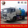 12000 de Capaciteit van de liter voor de VacuümVrachtwagen van de Zuiging van de Riolering
