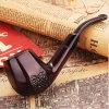 Pipe de fumage durable de tabac en bois normal fabriqué à la main