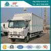 Isuzu 4X2 10 Ton 189HP 밴 Cargo Truck