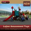 Glückliche Welt scherzt im Freien Plastikspielplatz (X1508-2)