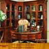 Роскошный угловойой большой Bookcase спальни с деревянной дверью (XS9-037)