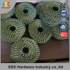 China-Ring-Nagel-Fertigung-hochwertiger Draht gemischte galvanisierte Ring-Nägel