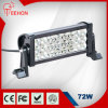 72W 3-Row 13 '' LED Light Bar per Outdoor Lighting