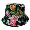 Chapéu da cubeta com tela floral (BT057)