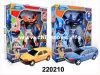 Горячая продавая пластмасса Toys автомобиль деформации (220210)