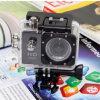 Câmaras de vídeo Action Camera Full HD DVR Sport DV 1080P Waterproof Senor Motor DV 170 Wide Angle de Sj4000 Mini