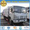 Vassoura de estrada nova do projeto 4X2 8 Cbm de Isuzu 8 toneladas de caminhão limpo da rua
