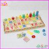 Brinquedo educacional das crianças de madeira Multifunctional (W12E001)