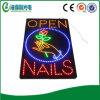 Geöffnetes Zeichen des LED-geöffnetes Nagel-Zeichen-LED (HSO0255)