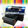 Alta calidad A2 tamaño de cuero, PU Impresora UV plana