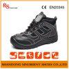 Стильные ботинки безопасности с кожей RS893 хорошего качества неподдельной