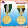 De V.A.E Award Medal Military, Gold Sport Medal met Ribbon Bar (lzy 2014C-0031)