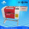 machine de découpage de laser du CO2 40W pour le cuir de papier
