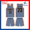Irgendein Cutom Entwurf, den alle mögliche Firmenzeichen-Sublimation-Team-BasketballJerseys einstellten