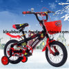 Bicicleta encantadora de 12  crianças com roda do treinamento