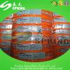 Boyau de jardin flexible renforcé tressé par PVC coloré de la meilleure qualité