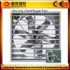 Jinlongの自動養鶏場または温室または工場低価格のためのシャッターによって取付けられる換気扇