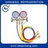 Digital do competidor Mainfold Pressure Gauge com CE (SH-M50336A)