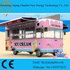 Camion mobile de nourriture de sandwich à crême glacée de rue à vendre (CE)