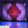 3m*8m Fireproof Cloth Stage Decoration Lighting Vision Curtain LED