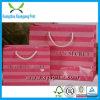 Мешок оптового подарка сатинировки бумажный с печатью логоса в Китае