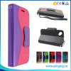 Wallet Style PU Leather Flip Cover Phone Case for Blu Dash L D050u