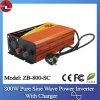 800W 24V gelijkstroom aan 110/220V AC Pure Sine Wave Power Inverter met Charger